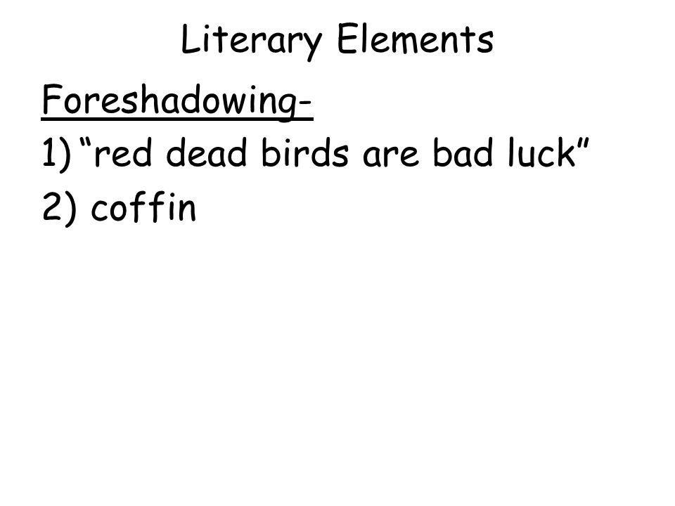 literary elements in the scarlet ibis Help students uncover literary elements lesson plans for tone words style, & theme using twist graphic organizer includes twist template help students uncover literary elements lesson plans for tone words, word choice, imagery twist example for the scarlet ibis.