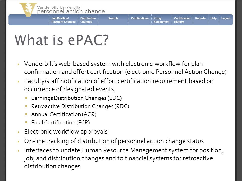 What is ePAC