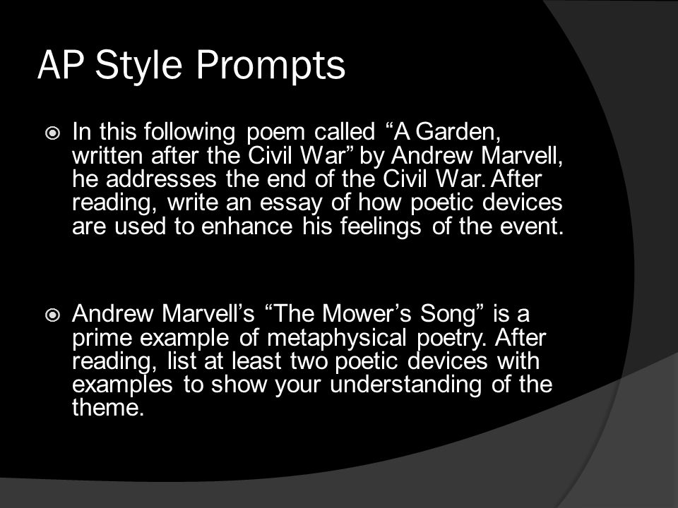 AP Style Prompts