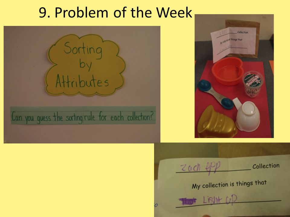 9. Problem of the Week