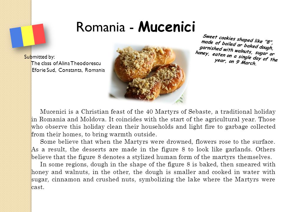 Romania - Mucenici