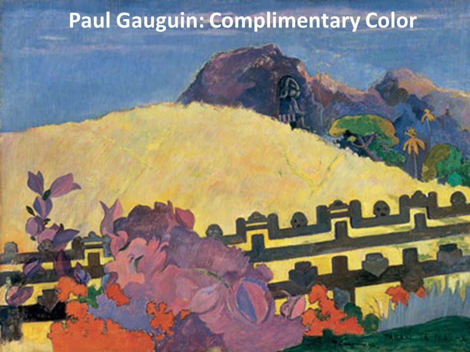 Paul Gauguin: Complimentary Color