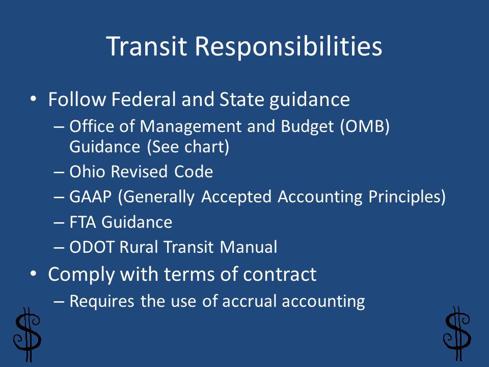 Transit Responsibilities