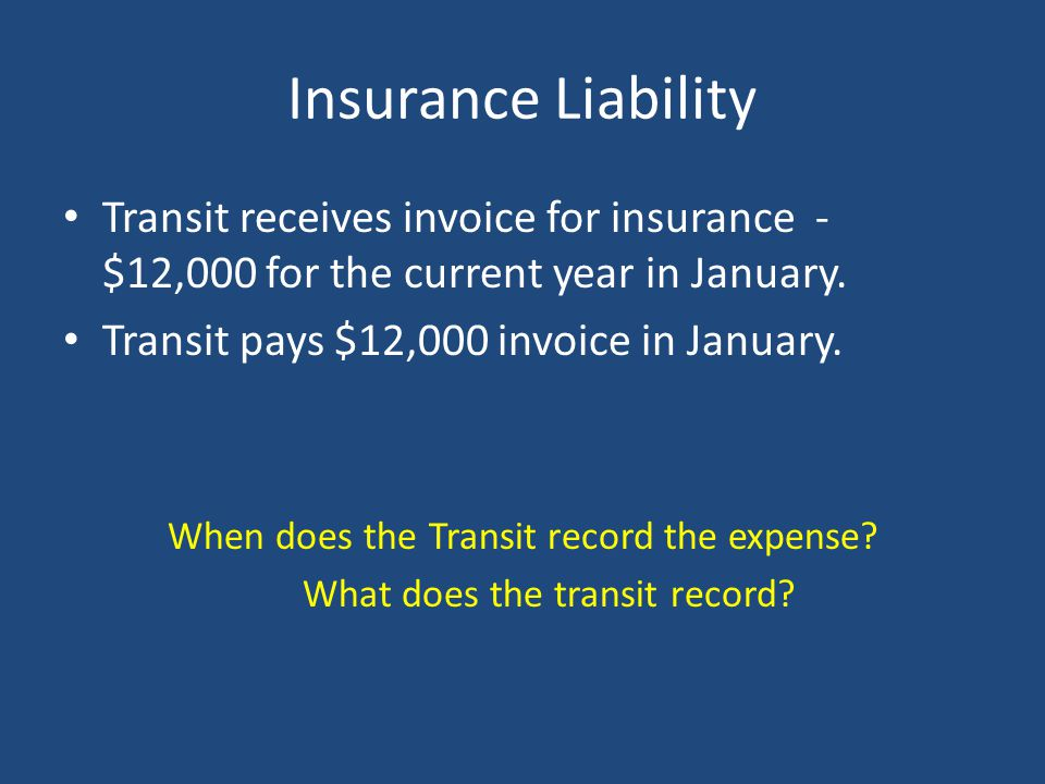 What does the transit record