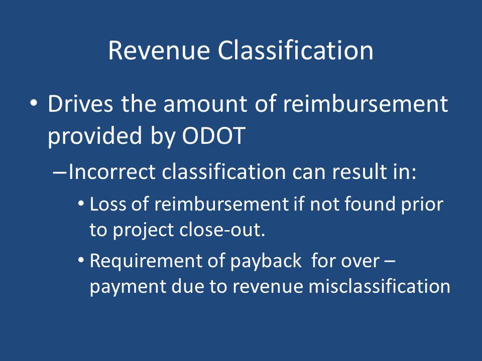 Revenue Classification