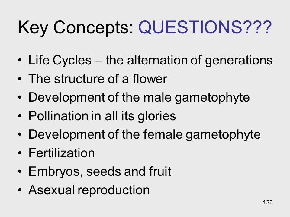 Key Concepts: QUESTIONS