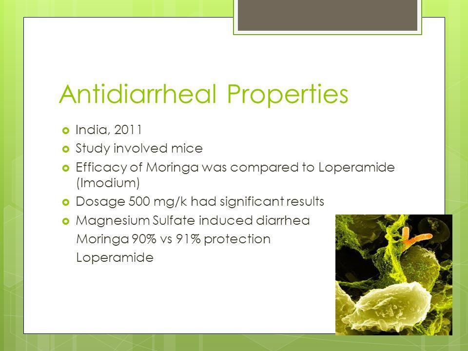 Antidiarrheal Properties