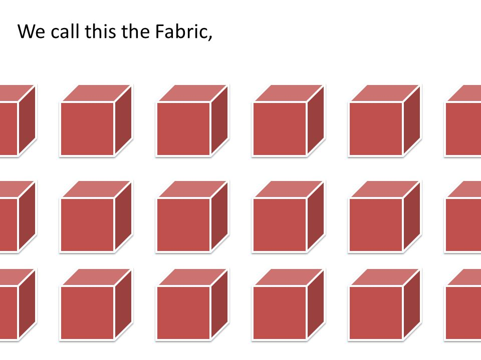We call this the Fabric,