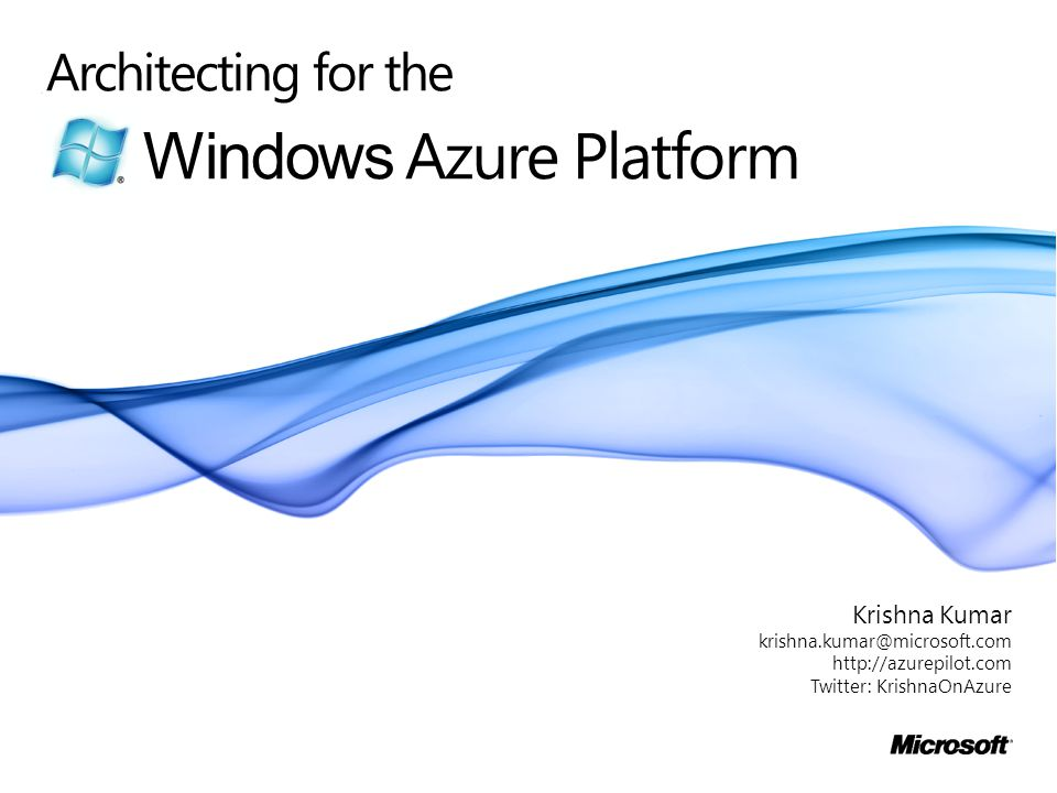 Windows Azure Platform
