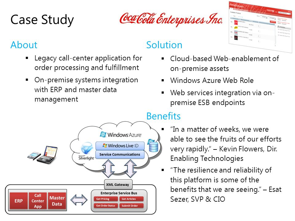 Case Study About Solution Benefits