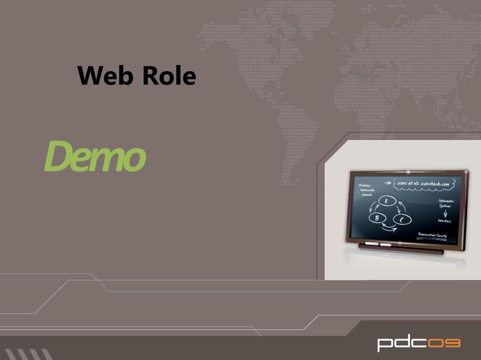 Web Role Demo