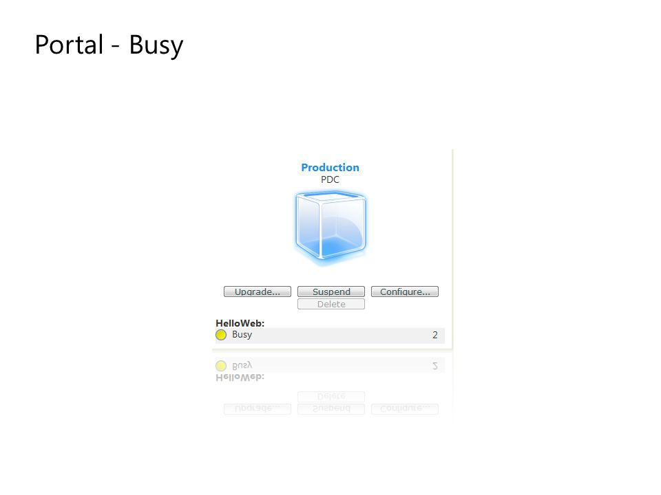 Portal - Busy
