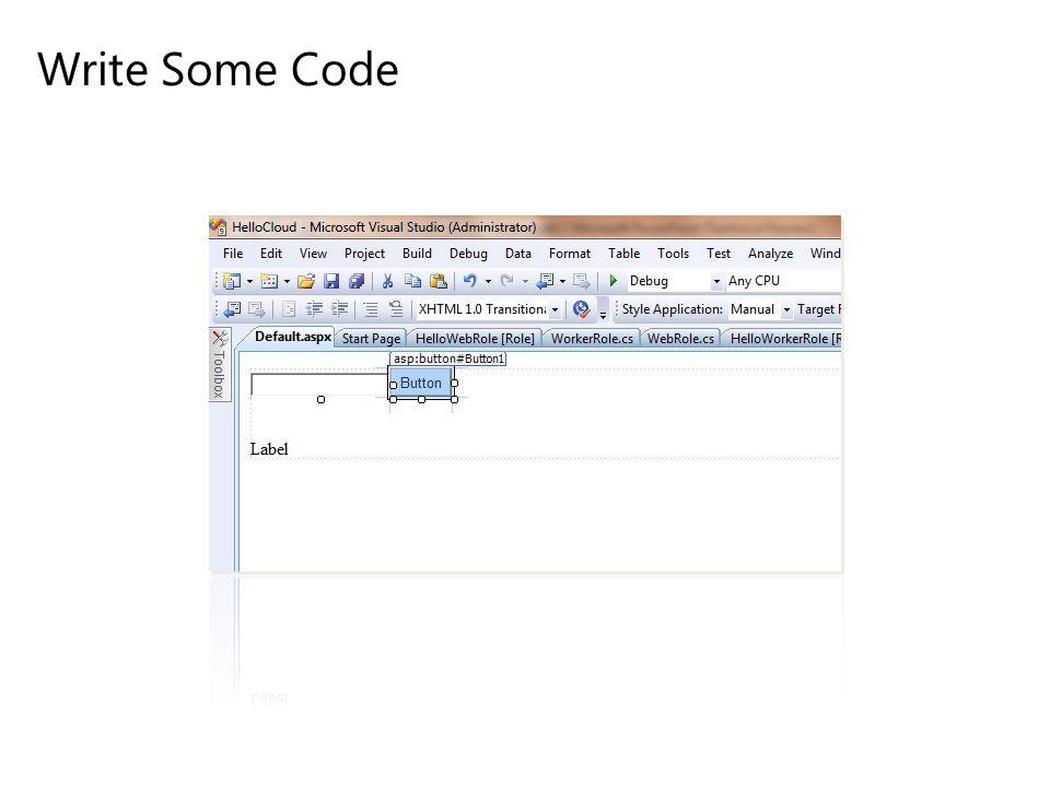 Write Some Code