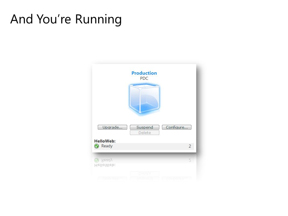 And You're Running