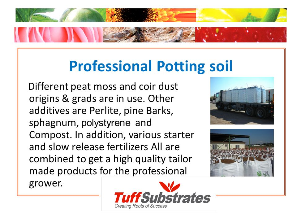 Professional Potting soil
