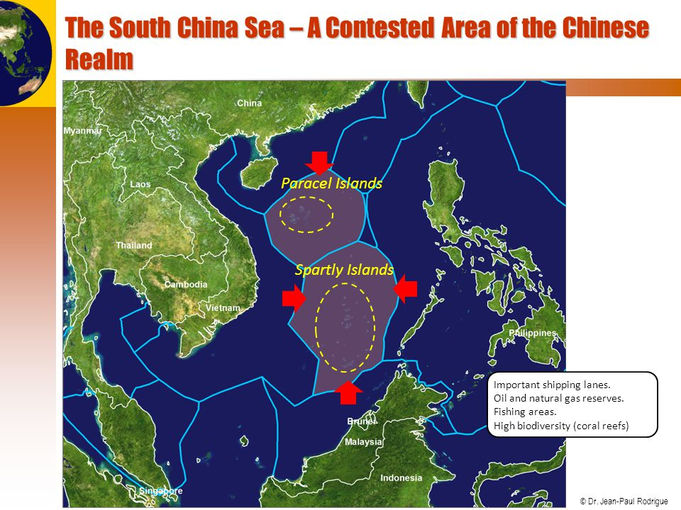The South China Sea – A Contested Area of the Chinese Realm