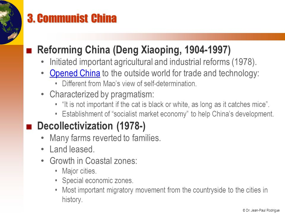 Reforming China (Deng Xiaoping, 1904-1997)