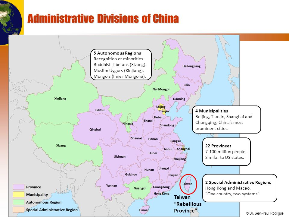 Administrative Divisions of China