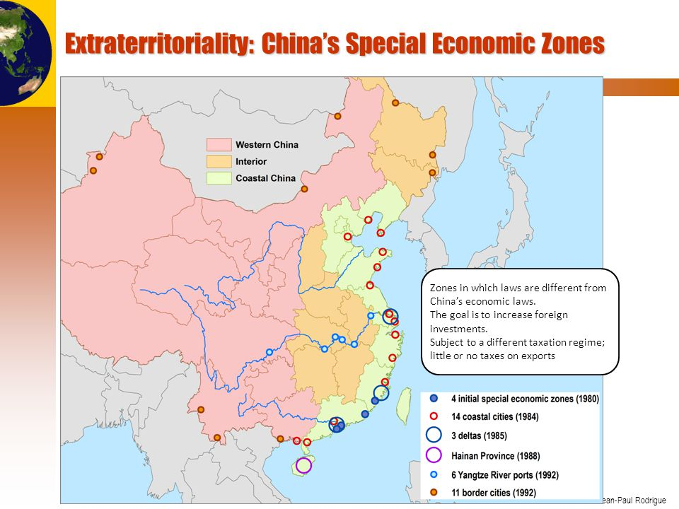 Extraterritoriality: China's Special Economic Zones