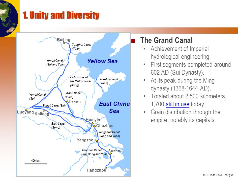 1. Unity and Diversity The Grand Canal
