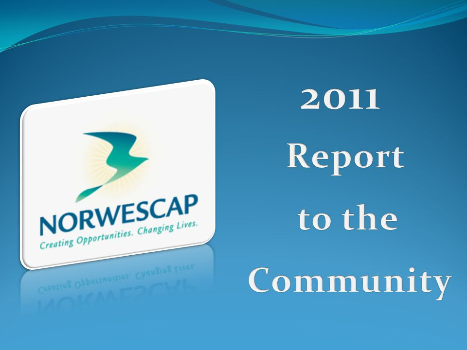 2011 Report to the Community