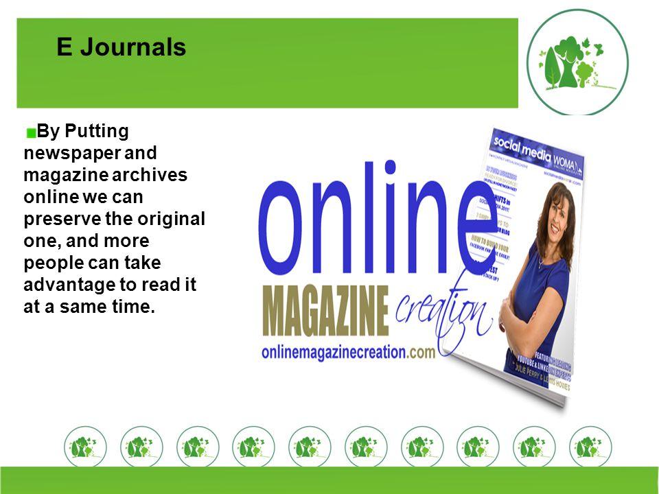 E Journals