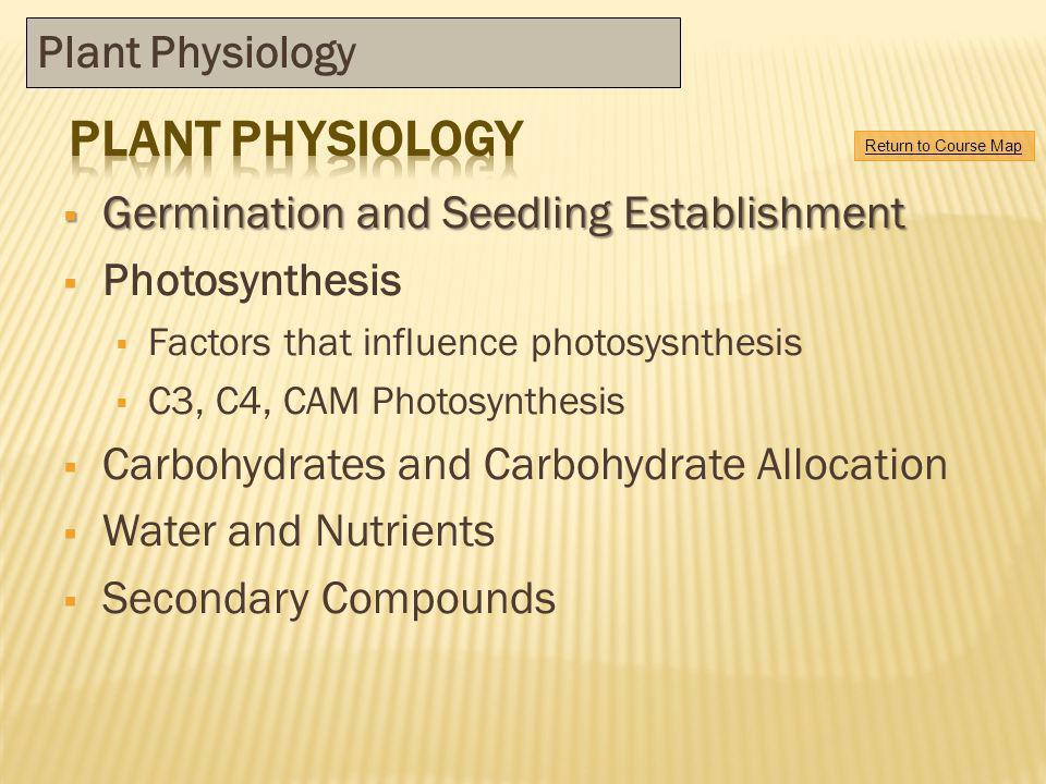 Plant physiology Plant Physiology