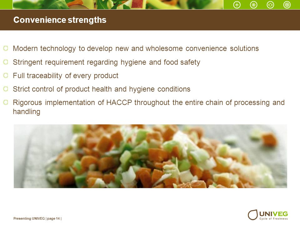 Convenience strengths