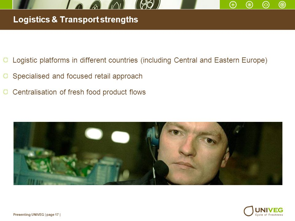 Logistics & Transport strengths
