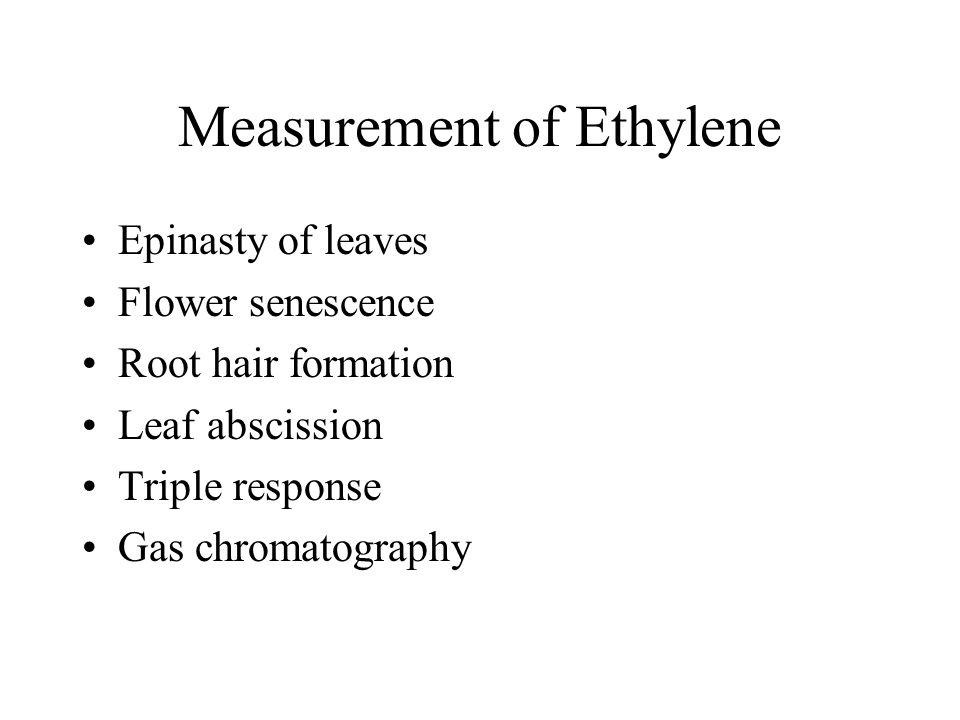 Measurement of Ethylene