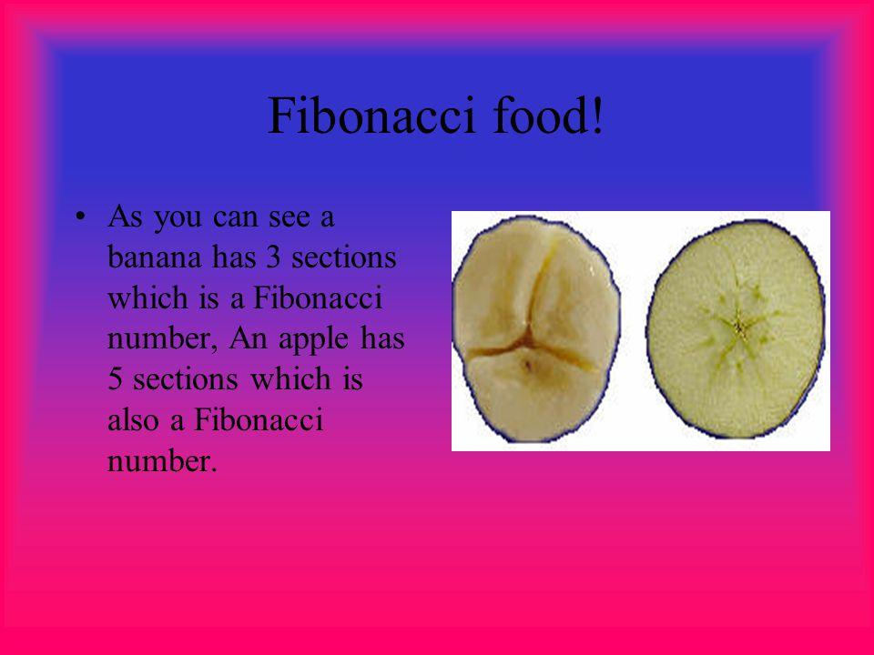 Fibonacci food.
