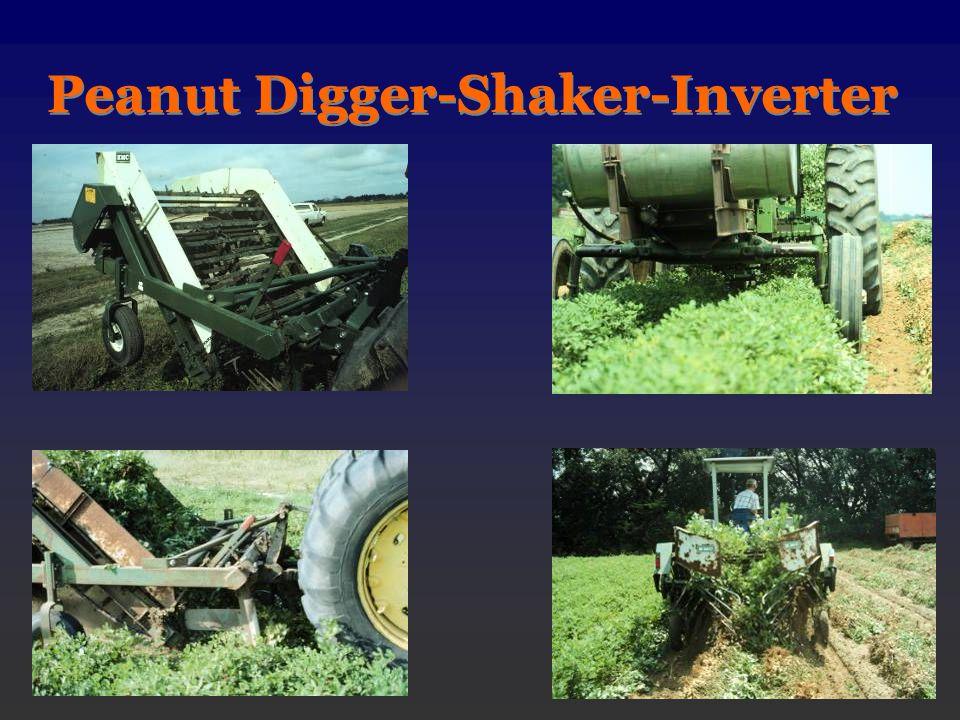 Peanut Digger-Shaker-Inverter