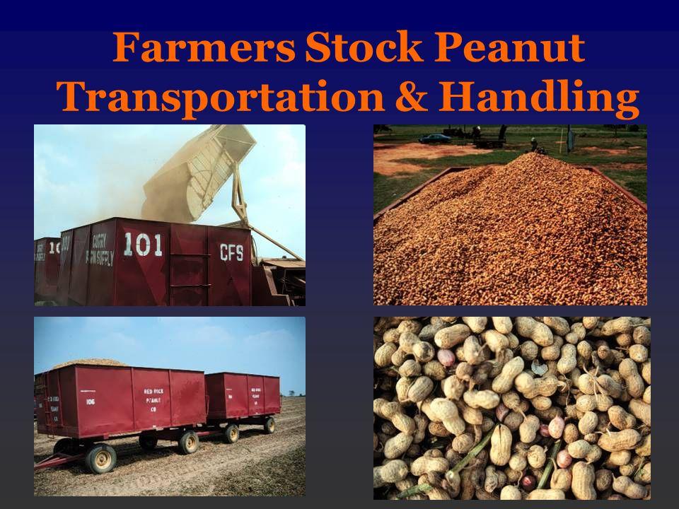 Farmers Stock Peanut Transportation & Handling