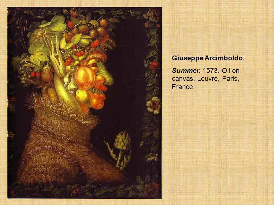 Summer Giuseppe Arcimboldo.