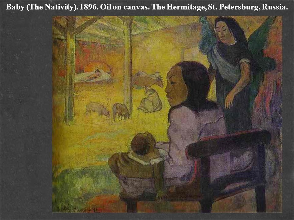 Baby (The Nativity). 1896. Oil on canvas. The Hermitage, St