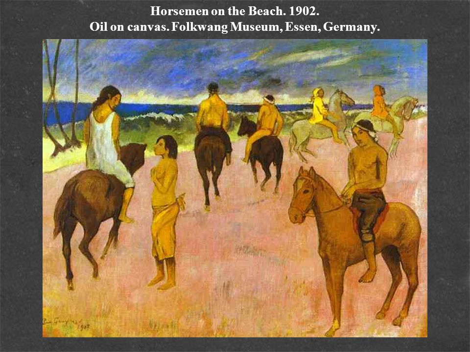 Horsemen on the Beach. 1902. Oil on canvas