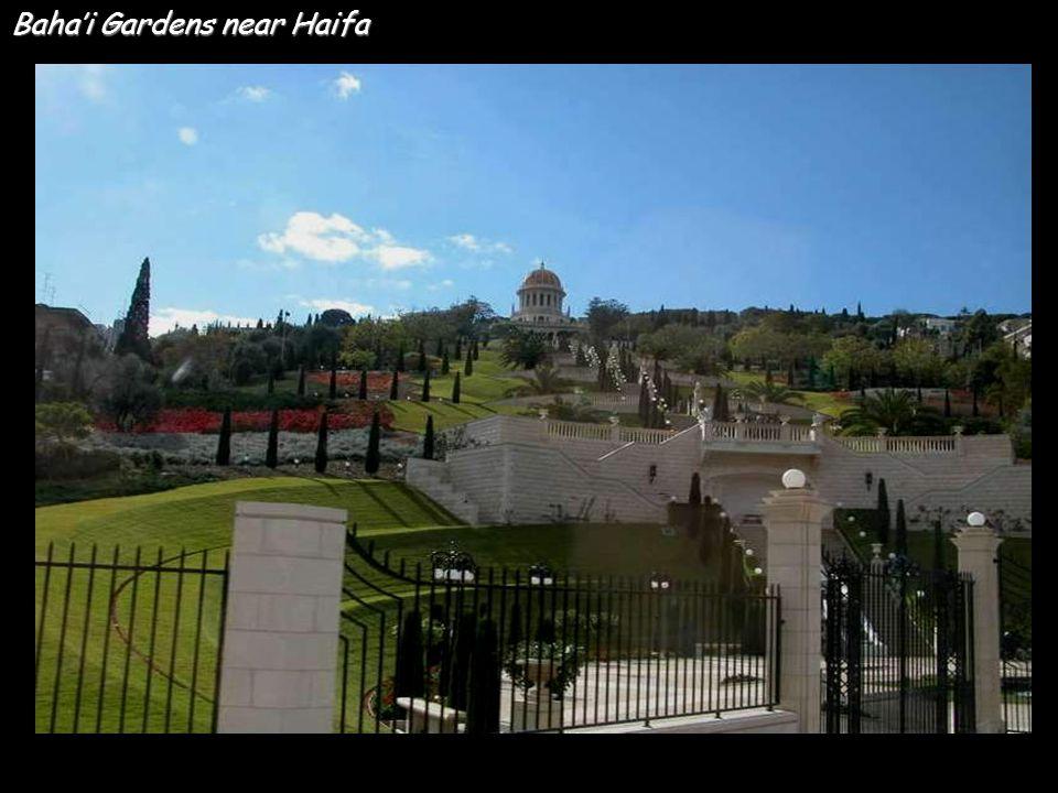 Baha'i Gardens near Haifa