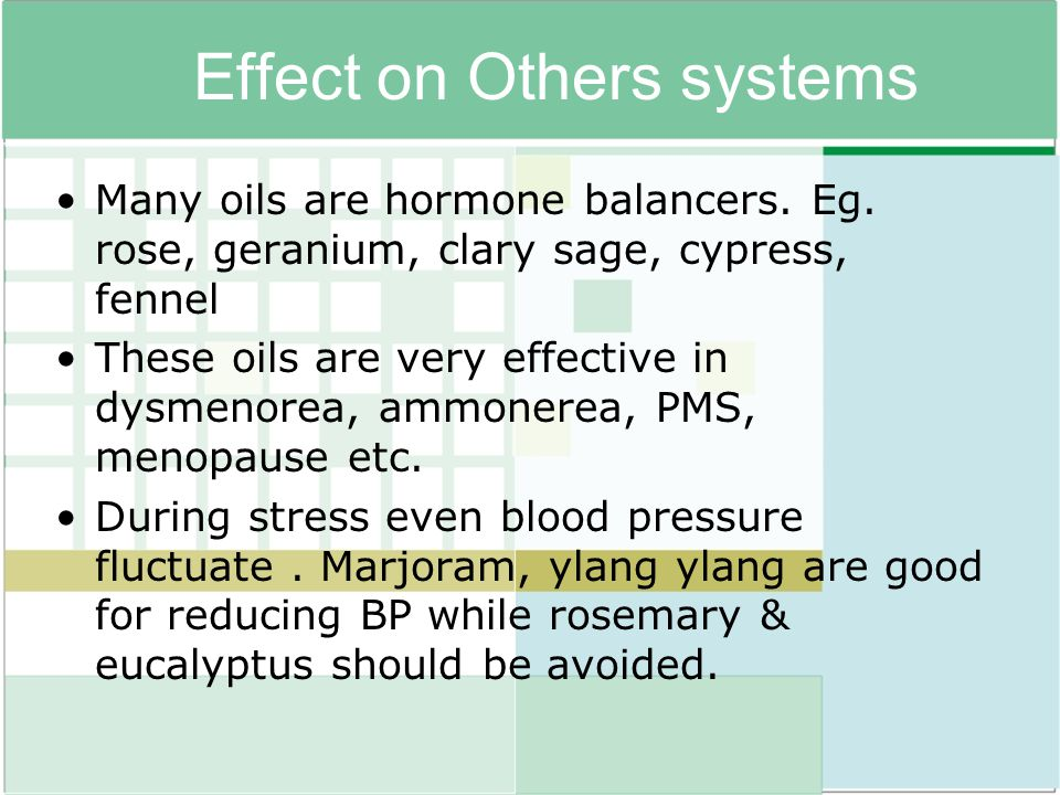 Effect on Others systems