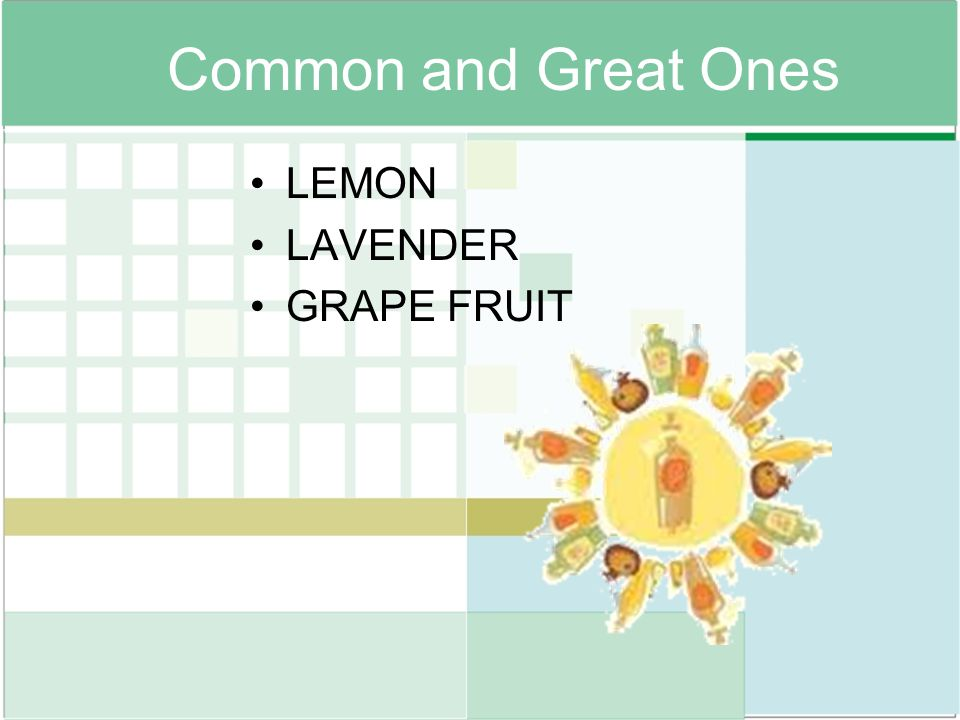 Common and Great Ones LEMON LAVENDER GRAPE FRUIT