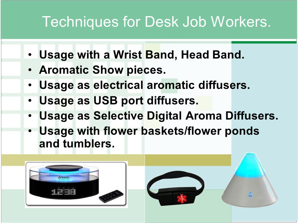 Techniques for Desk Job Workers.