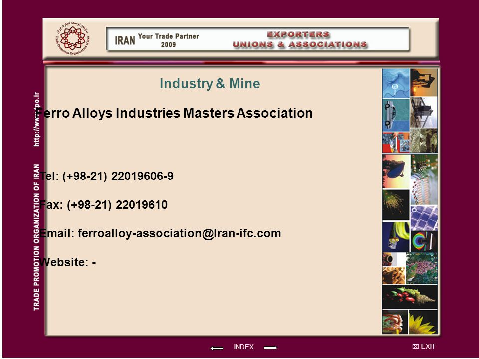 Ferro Alloys Industries Masters Association
