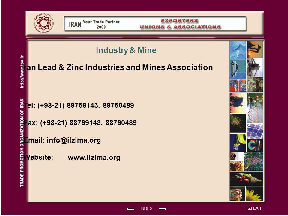 Iran Lead & Zinc Industries and Mines Association