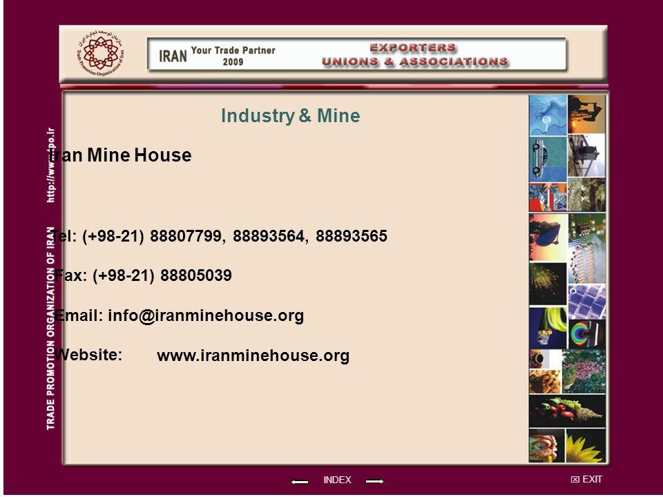 Iran Mine House Industry & Mine