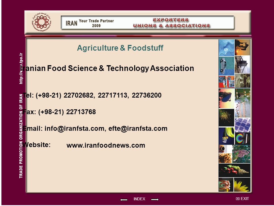 Agriculture & Foodstuff