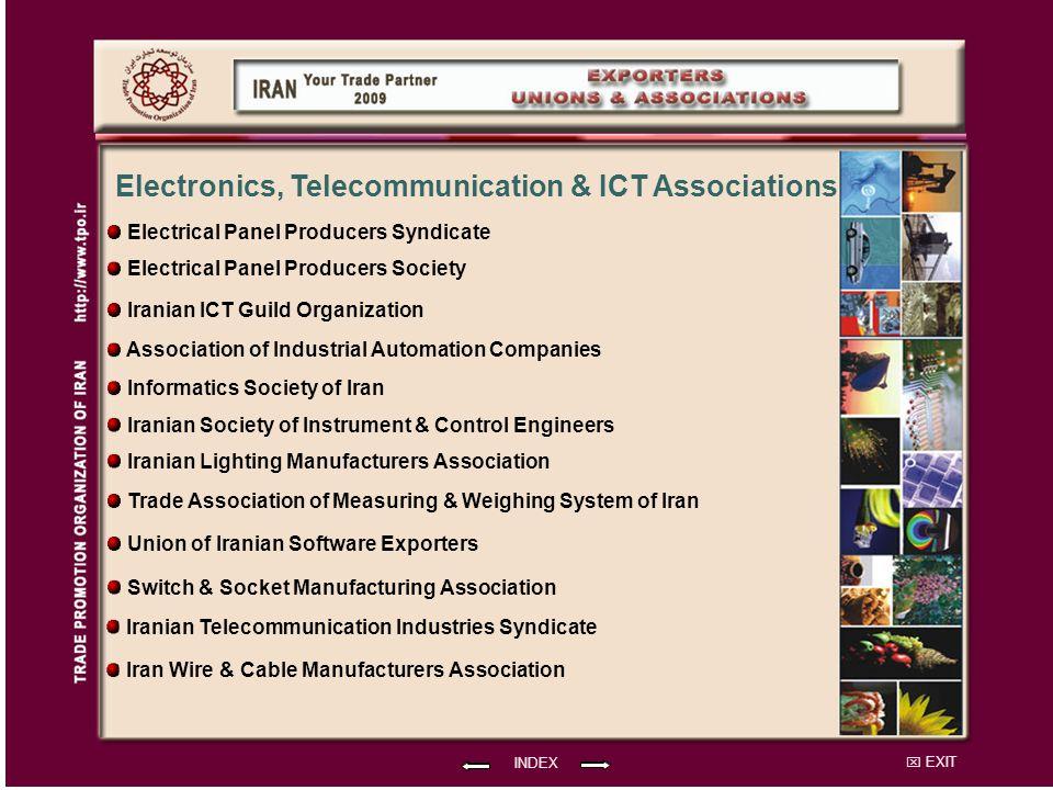 Electronics, Telecommunication & ICT Associations
