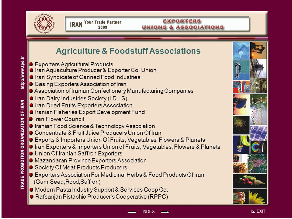 Agriculture & Foodstuff Associations