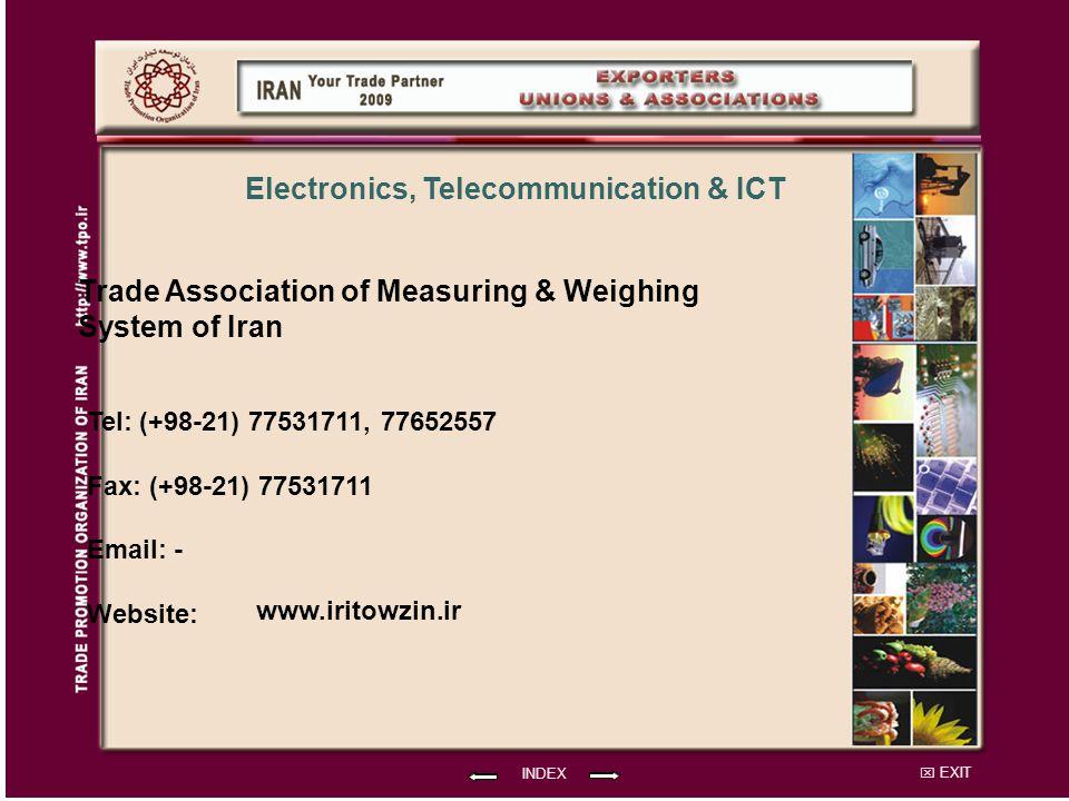 Trade Association of Measuring & Weighing System of Iran