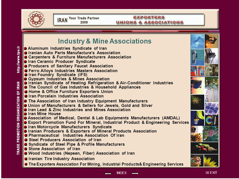 Industry & Mine Associations