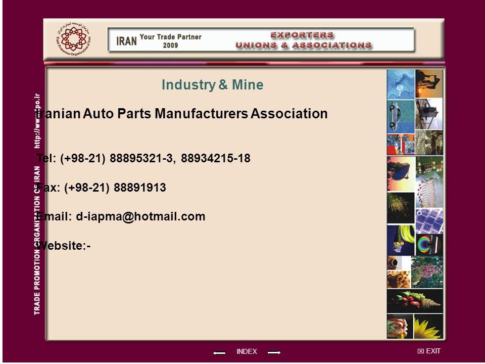 Iranian Auto Parts Manufacturers Association