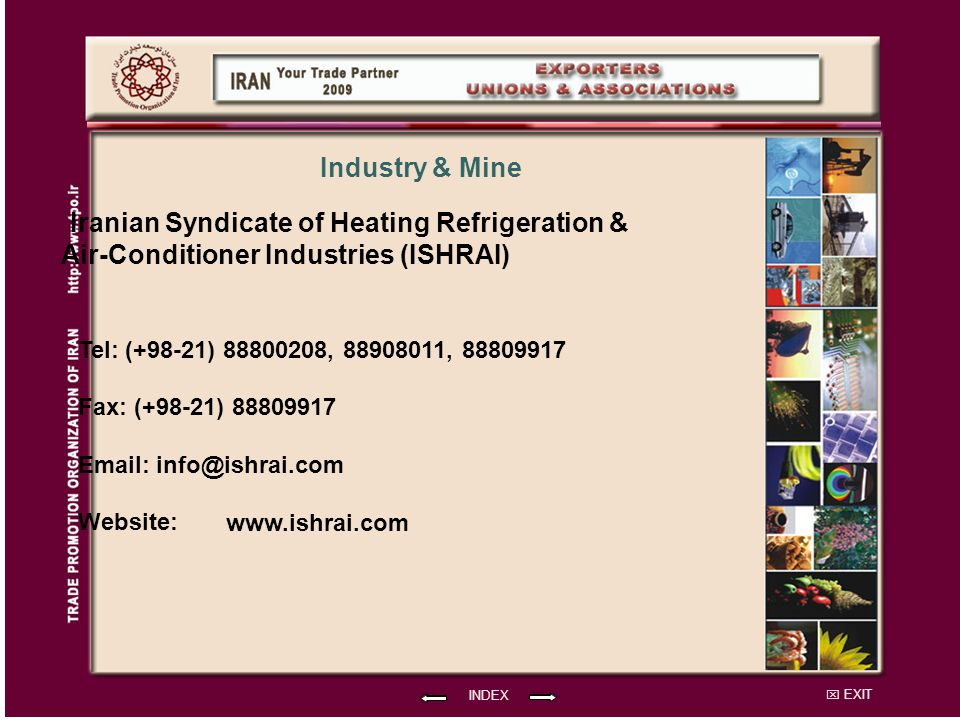 Iranian Syndicate of Heating Refrigeration &